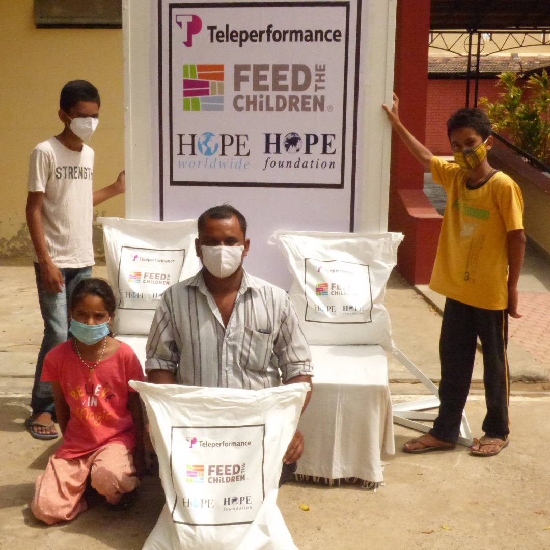 HOPE foundation COVID support